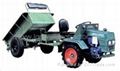LGN-12Y wheel-typed walking tractor
