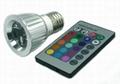 LED spotlight E27