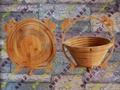Supply can fold bamboo process fruit
