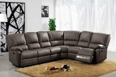 2013 new model recliner sectional sofa set  1230 corner