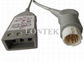 HP/Ph 3Ld ECG Trunk cable