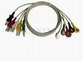 TRU-LINK style lead wires,ECG 5 lead