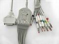 Fukuda Denshi one piece series ECG cable