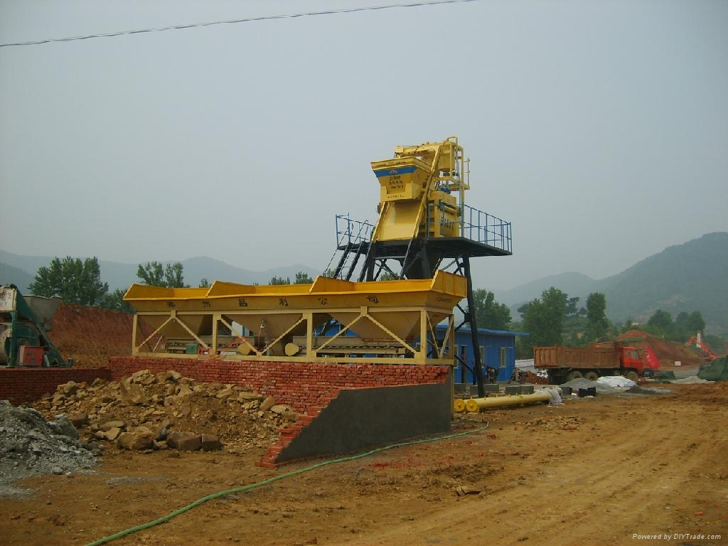 Hzs50 50m3 H Ready Mix Concrete Batch Plant 50m3 Dry Mix