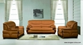 LEATHER LIVNG ROOM SOFA