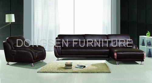 Leather corner sofa sets (GF018), modern and generosity  1