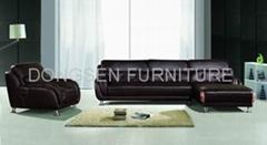 Leather corner sofa sets (GF018), modern and generosity