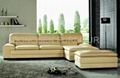 leather coner sofa