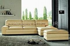 leather coner sofa