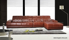 Leather corner sofa GF038 , modern design and high quality with reasonable price