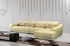 leather corner sofa GF032, modern design , high quality with reasonable price
