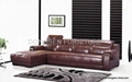 leather sectional sofa GF031, modern design, high quality with reasonable sofa 1