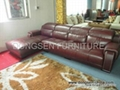 leather sectional sofa GF031, modern design, high quality with reasonable sofa 2