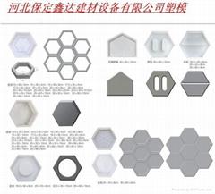 保定鑫达建材设备有限公司供应护坡砖模具路牙石模具
