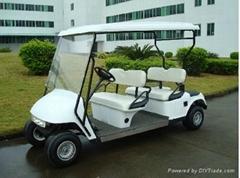 电动四座高尔夫球车