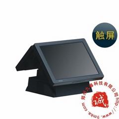 VTOP980雙屏單觸收款機