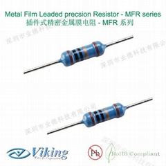 插件式金属精密薄膜电阻