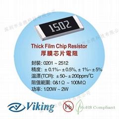 厚膜芯片电阻