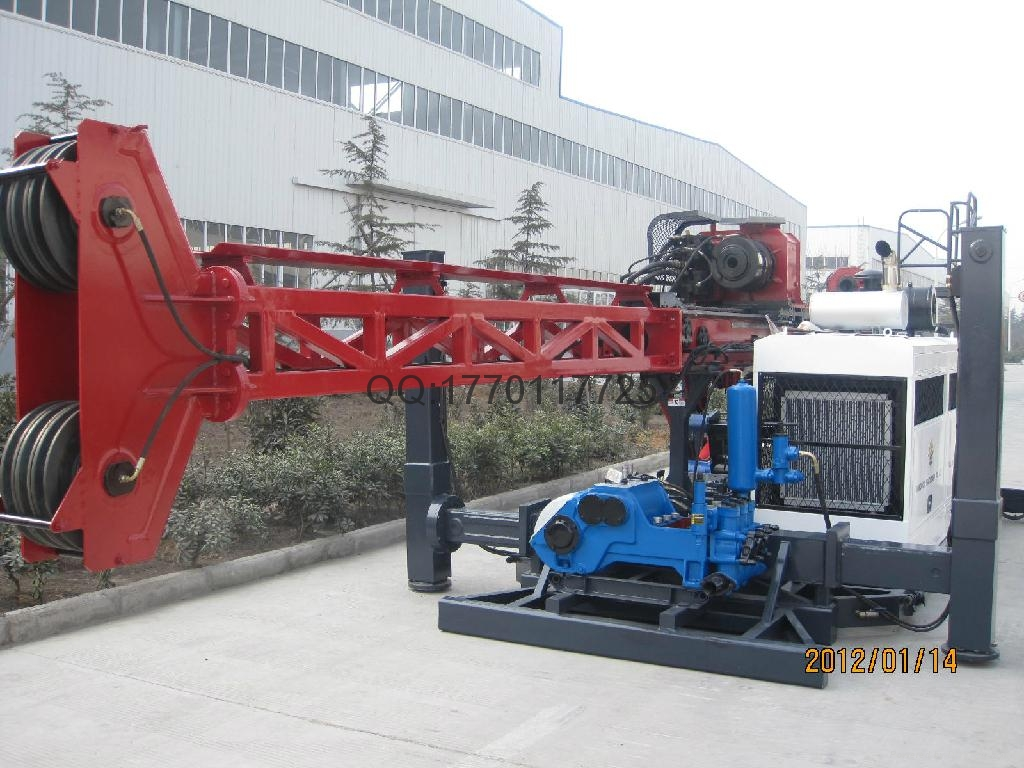 China Gold Supplier,HCR-6 full hydraulic core drilling rig  2
