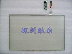 19寸寬五線電阻觸摸屏(套裝)