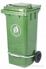120L塑料垃圾桶大量批发