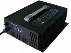 谷润 24-72V电动高尔夫球车铅酸电池智能充电器