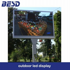 P10 led display screen outdoor
