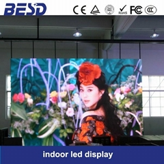 indoor rental led display screen,P6 slim cabinet
