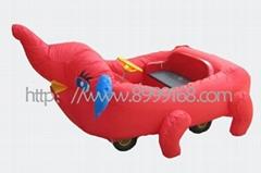 武漢大家樂卡通充氣電瓶車