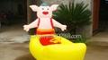 武漢時尚玩具大家樂充氣電瓶車 4