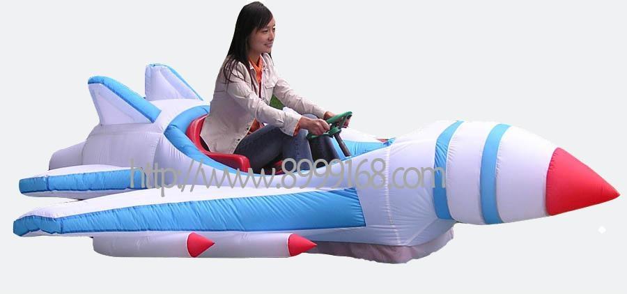 武漢時尚玩具大家樂充氣電瓶車 5