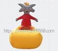 時尚玩具充氣電瓶車 1