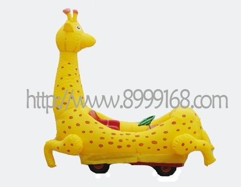 時尚玩具充氣電瓶車 2