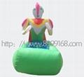 時尚玩具充氣電瓶車 4