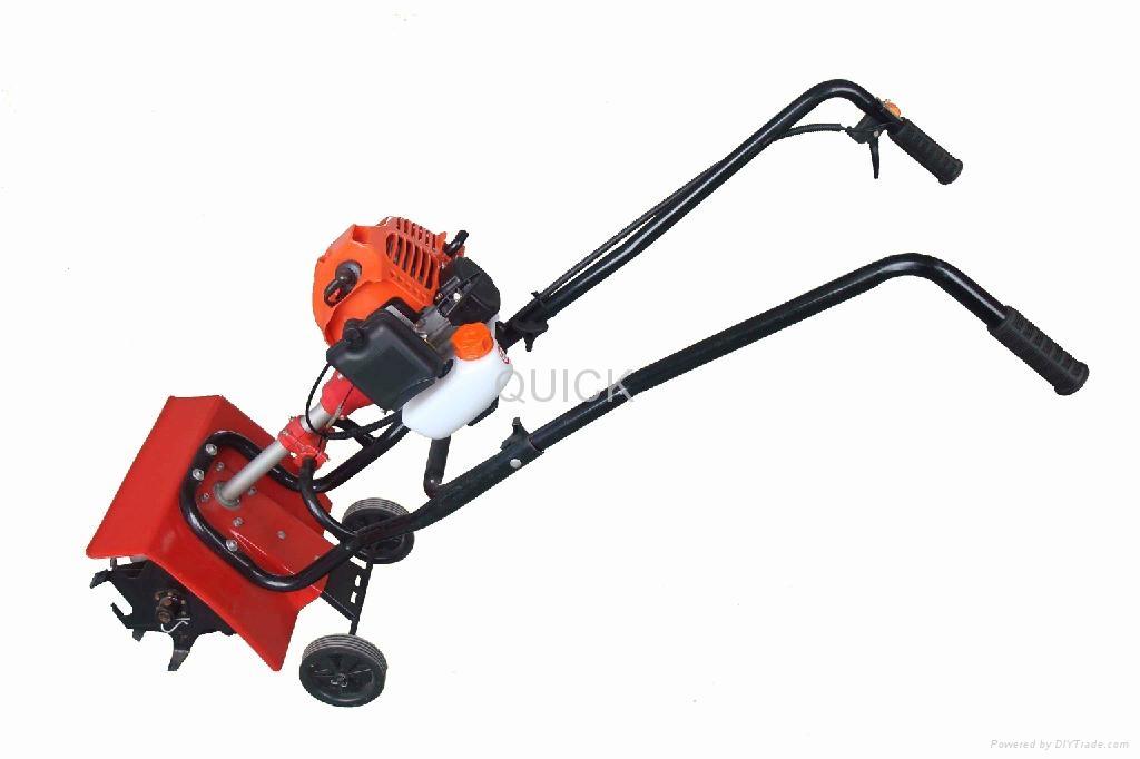 43cc tiller machine mini harvest machine t430 quick for Gardening tools manufacturers