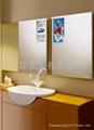 洗手间镜面透视广告播放器 3