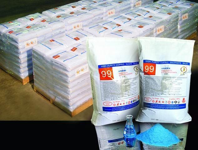 電鍍級五水硫酸銅 1