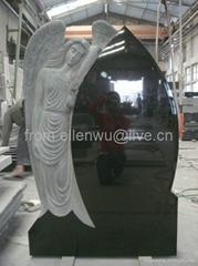 angel headstone