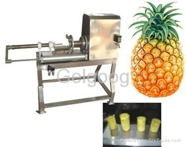 Pineapple peeler and corer      1