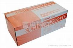 马来西亚进口有粉乳胶手套