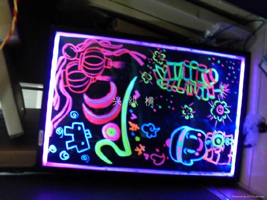 荧光板 4