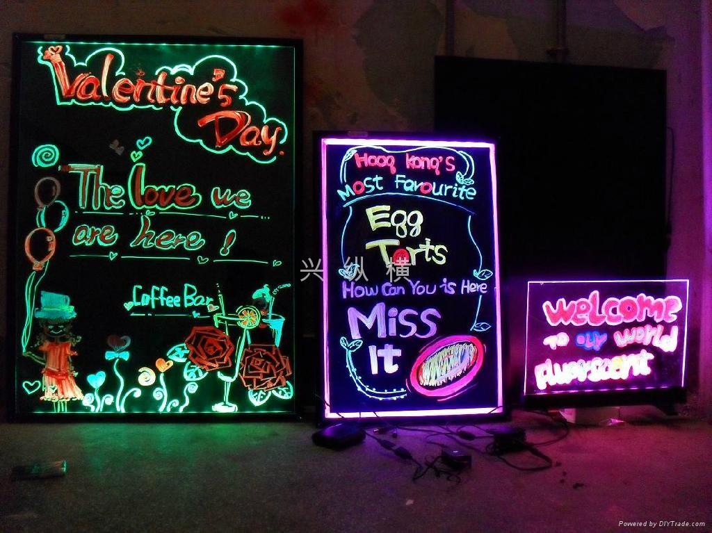 夜晚店铺橱窗手绘图片