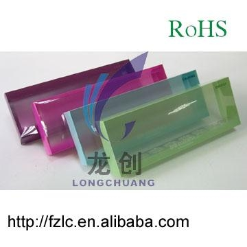 Clear Plastic Folding Box Packaging 1