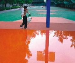 硅PU材料让游乐场更安全