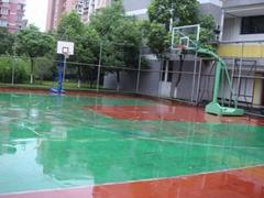 硅PU球场地面