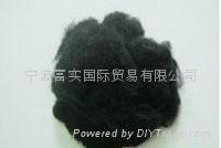 黑色滌綸短纖維 1