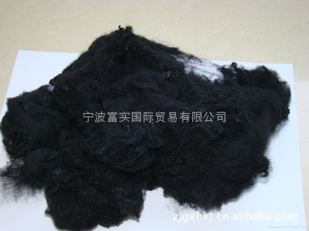 黑色滌綸短纖維 2