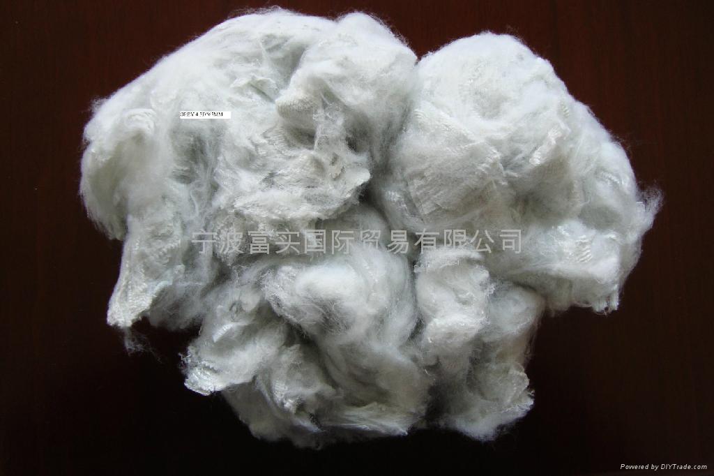 灰白滌綸短纖 1
