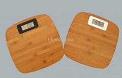 Bamboo Personal scale ,bamboo bathroom scale