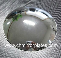 Auto Rearview Blue Convex Side Mirror Glass